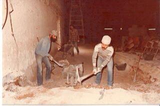 إبراهيم خلايلة, ادوارد معلم حفر القاعة الصغيرة في المسرح 1983